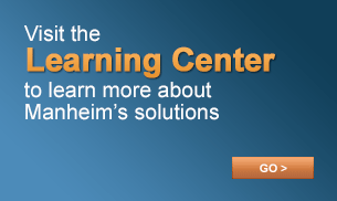 Visit the Learning Center to learn more about Manheim's Solutions. Go >